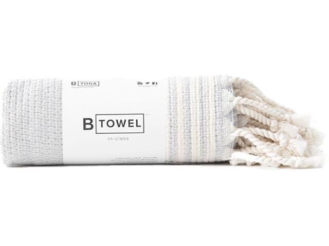 B Yoga B Towel Hands & Face, beige/wit